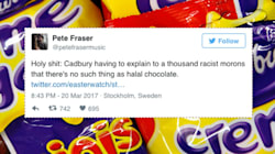 Cadbury's Slaps Down 'Racist Morons' Over 'Halal' Easter