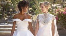 'Orange Is The New Black' Star Samira Wiley And Writer Lauren Morelli Get