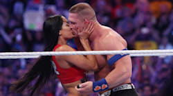 John Cena Popped The Question To Nikki Bella During WrestleMania