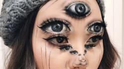 Las ilusiones ópticas que crea esta maquilladora harán que te dé vueltas la
