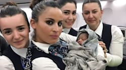 Turkish Airlines Crew Helps Deliver Baby Girl At 42,000
