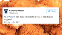 That Chicken Nugget Tweet Is On Course To Become The Most Retweeted Of All