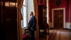 Estas imágenes retratan los primeros 100 días de Donald Trump como