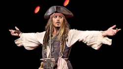 Johnny Depp Crashes Disneyland Ride In Character And People Had Zero