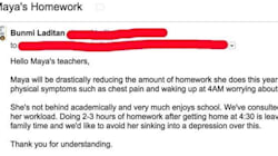 Mom Declares Her Daughter Is Done With Homework In Viral