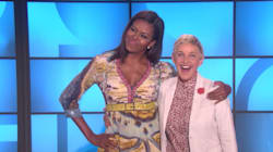 Michelle Obama Surprises Ellen For 20th Anniversary Of Her Coming