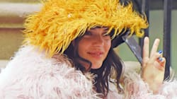 Kendall Jenner Poses With The Muppets For Love