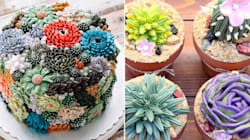 Succulent Cakes Are The New Dessert Trend We're Totally Stuck