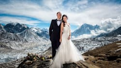 Ain't No Mountain High Enough For This Couple Who Wed On Mount
