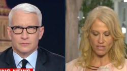 Presentador de CNN voltea los ojos tras comentarios de consejera de