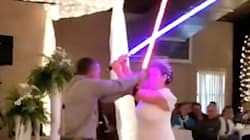 Superfans de Star Wars luchan contra la fuerza en su épica