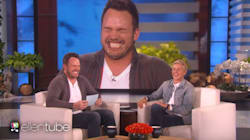 Chris Pratt And Ellen DeGeneres Lose It Playing 'Speak