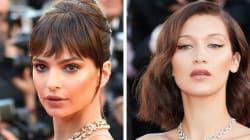Los looks de Cannes que debes tener en tu clóset: vestido abierto hasta el muslo y mucho