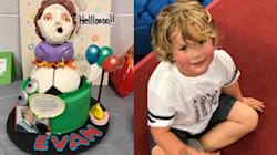 This Little Boy Had A 'Mrs. Doubtfire'-Themed Birthday Party And It Was