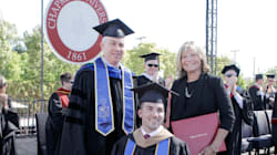 Mom Receives Honorary Degree After Helping Quadriplegic Son