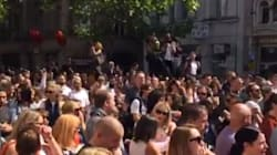 Manchester: Minute's Silence Concludes With Oasis's 'Don't Look Back In