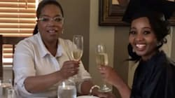 Oprah Celebrates Magical Young Black Women By Attending Their Grad