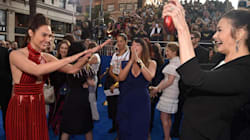 Gal Gadot Bows Down To Lynda Carter At 'Wonder Woman'