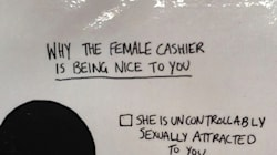 This Bar's Sign Makes Patrons Think Twice Before Harassing Female