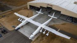 Este es el avión más grande del mundo y fue idea del cofundador de