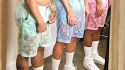 These Lace Shorts For Men Are Coming For The