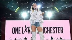Miley Cyrus Sings Moving Rendition Of 'Inspired' At Manchester Benefit