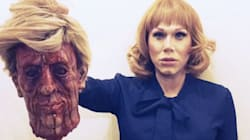Drag Queen Sharon Needles Recreates Kathy Griffin's Controversial Trump