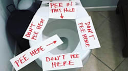 Mom's Viral Toilet Signs Resonate With Parents Who've Been
