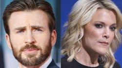 Chris Evans Denounces NBC For Megyn Kelly's Alex Jones