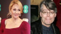 Trump bloqueó en Twitter a Stephen King; J.K. Rowling sale a