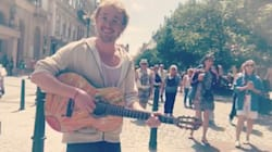 'Harry Potter' Star Tom Felton Flies Under The Radar While Busking In