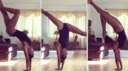 Naomi Campbell's Jaw-Dropping Yoga Sequence Will Give You All The Fitness