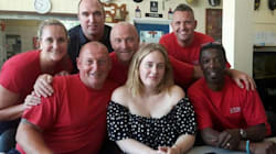 Adele Surprises Grenfell Tower Firefighters With Cake And