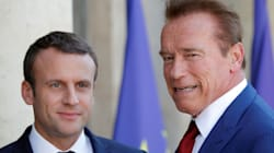 Schwarzenegger And Macron Troll Trump Over Climate