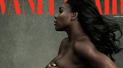 Serena Williams Is Topless, Pregnant And Fierce On The Cover Of Vanity