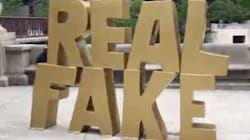 Chicago Artist Carefully Placed 'Real Fake' Sculpture Outside Trump