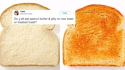 Turns Out Bread Has Been 'Raw Toast' All