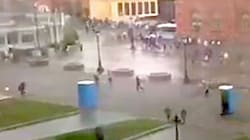Bizarre Video Shows Runaway Toilets Chasing People During