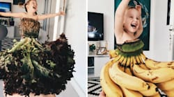 Mum Uses Flowers And Produce To Make Her Daughter