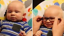 This Baby's Joy At Seeing Properly For The First Time Is