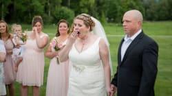 Una novia conoce el día de su boda al hombre que recibió el corazón de su