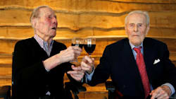 World's Oldest Living Male Twins Celebrate 104th