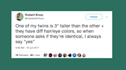 Just 28 Funny Tweets About Being A Twin