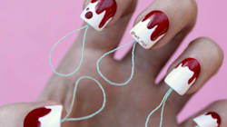 Tampon Nail Art Has Arrived, And The Internet Loves
