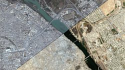 Staggering Before-And-After Satellite Images Show Destruction Of