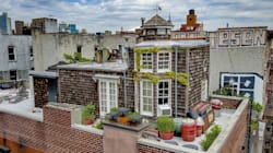 There's A 'Nantucket Style Cottage' On The Roof Of This NYC