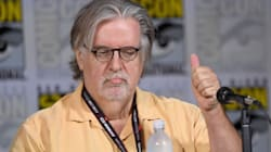 'Simpsons' Creator Matt Groening Leads Anti-Trump Chant At
