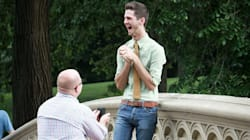 22 Joyous LGBT Proposal Photos That Will Hit You In The