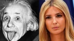 Ivanka Trump's Attempt To Quote Albert Einstein Backfires