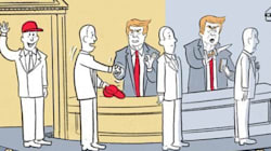 New Yorker Cartoon Savagely Depicts 'Five Stages Of White House